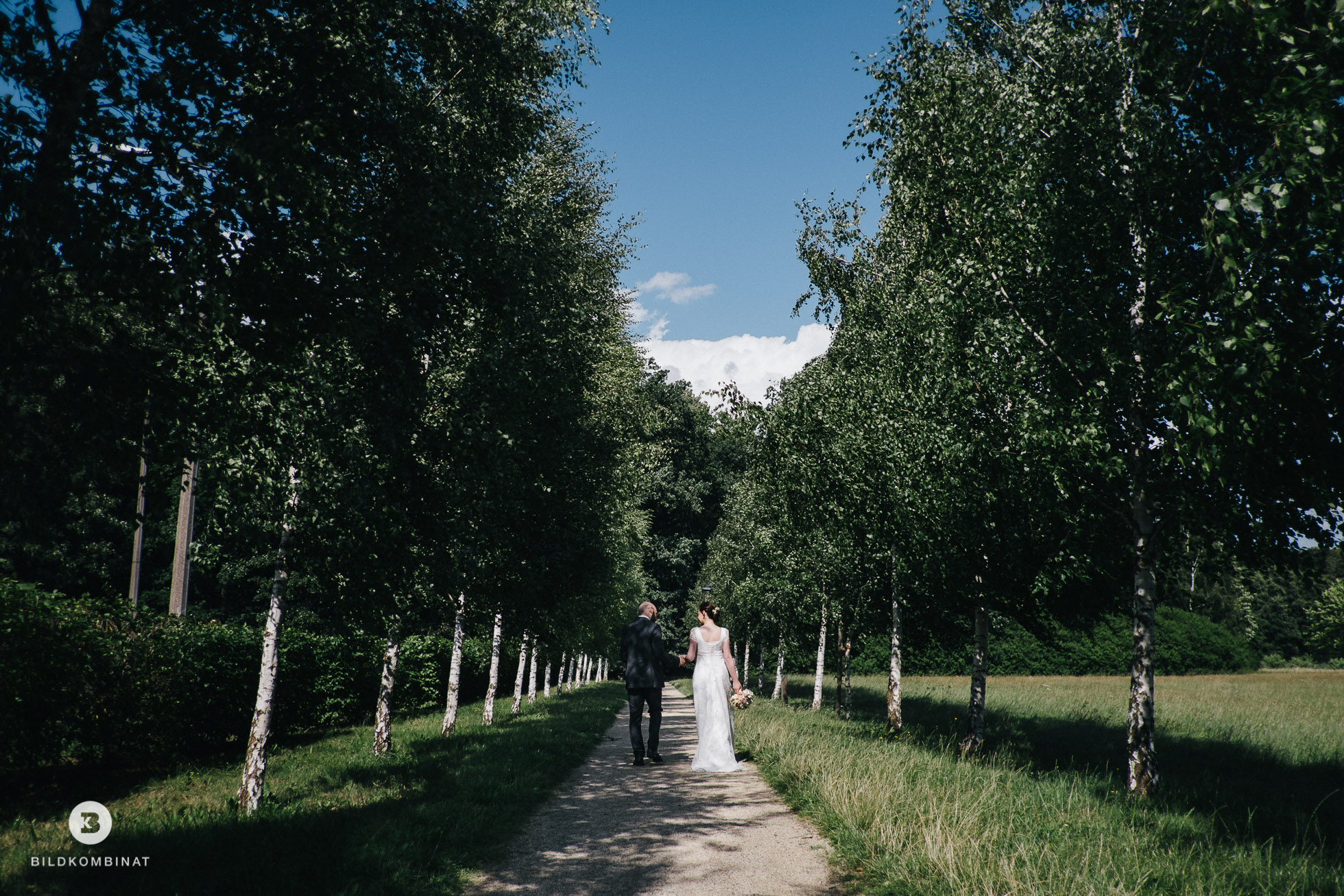Hochzeitsfotos im Schlosspark Machern