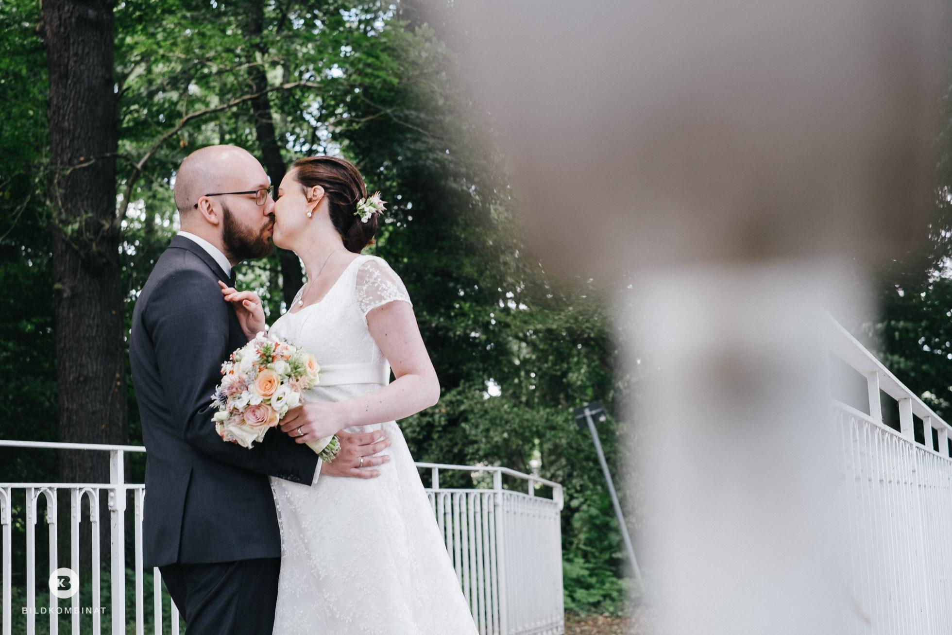 Hochzeitsbilder im Schlosspark Machern