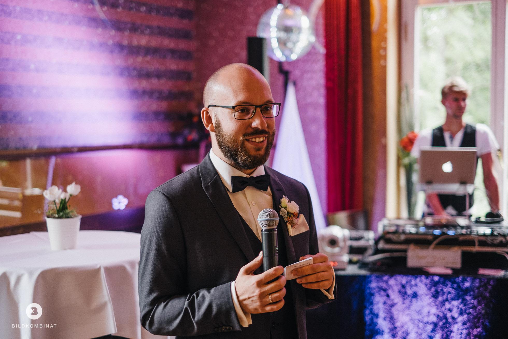 Hochzeitsrede vom Bräutigam